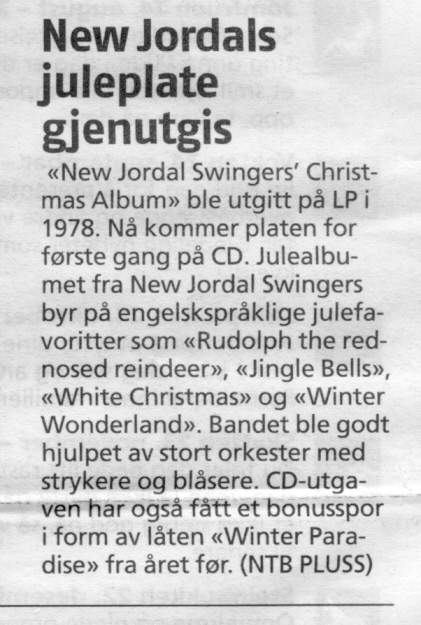 New Jordal Swingers - Den Tredje Mann - Ta Dem Med Deg Når Du Kommer